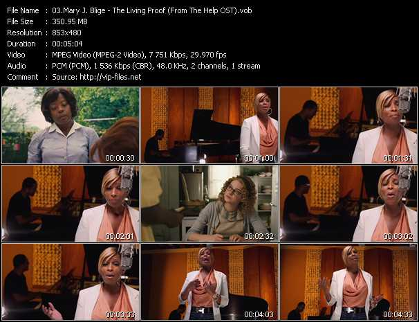 Mary J. Blige - The Living Proof (From The Help OST)