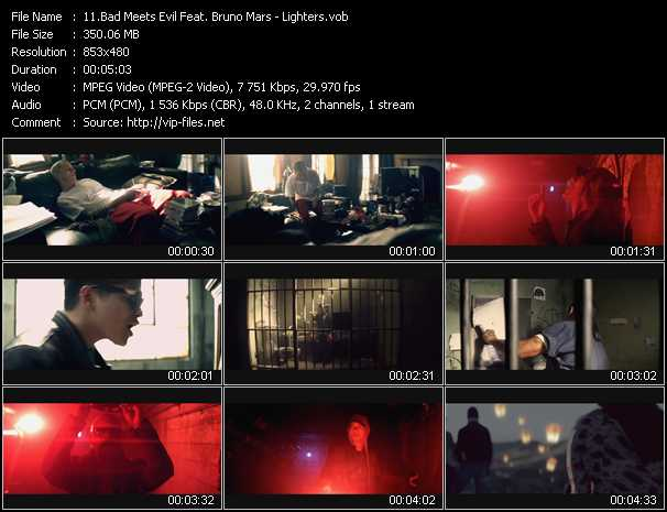 Bad Meets Evil Feat. Bruno Mars - Lighters