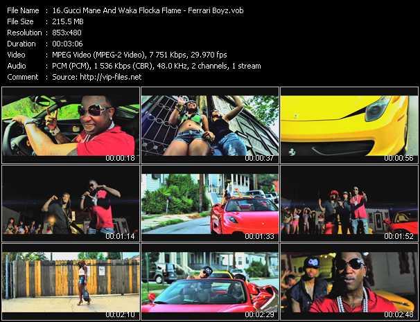 Gucci Mane And Waka Flocka Flame - Ferrari Boyz