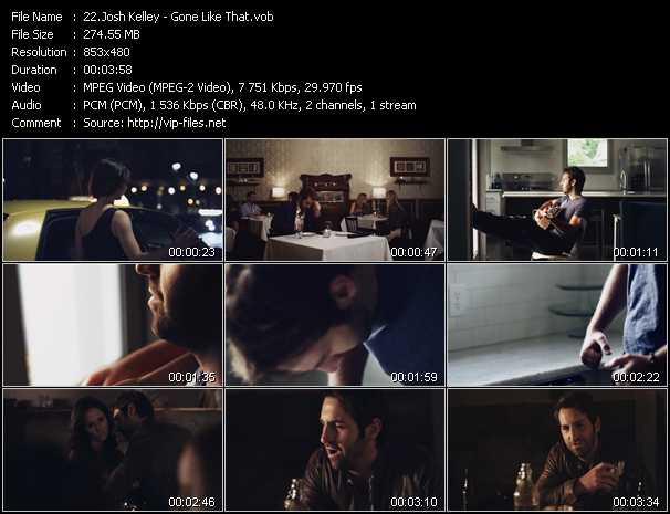 Josh Kelley - Gone Like That