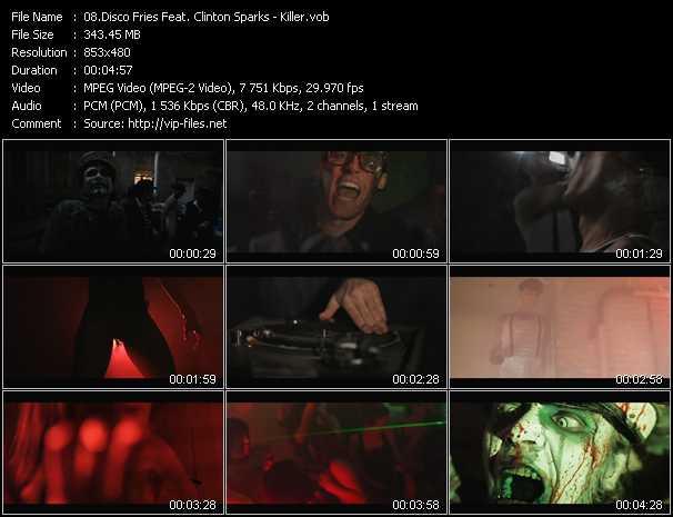Disco Fries Feat. Clinton Sparks - Killer