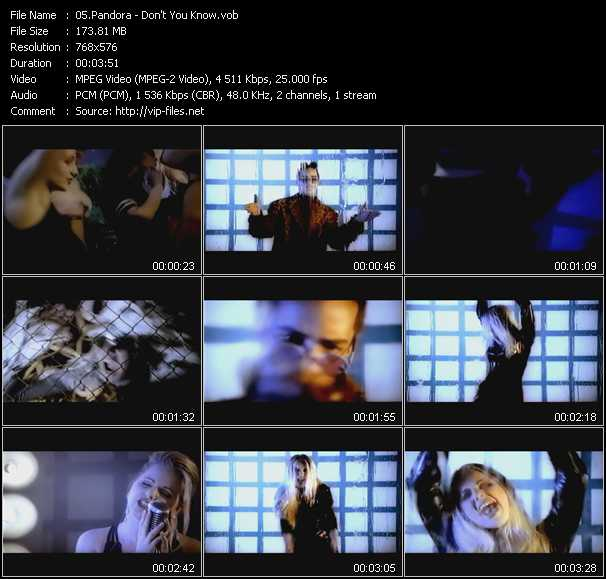 Pandora - Don't You Know