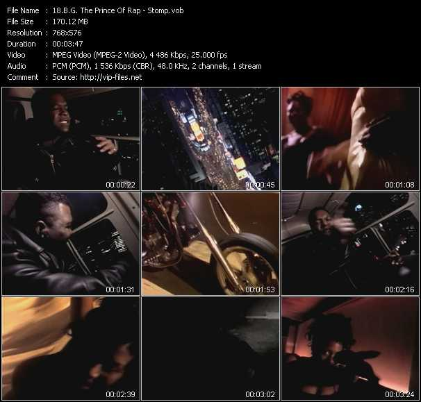 B.G. The Prince Of Rap - Stomp
