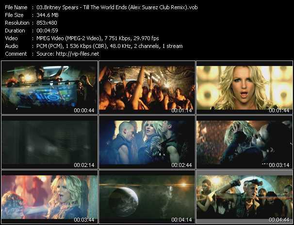 Britney Spears - Till The World Ends (Alex Suarez Club Remix)