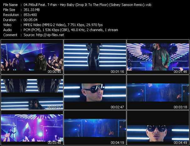 Pitbull Feat. T-Pain - Hey Baby (Drop It To The Floor) (Sidney Samson Remix)