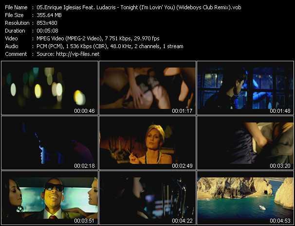 Enrique Iglesias Feat. Ludacris - Tonight (I'm Lovin' You) (Wideboys Club Remix)