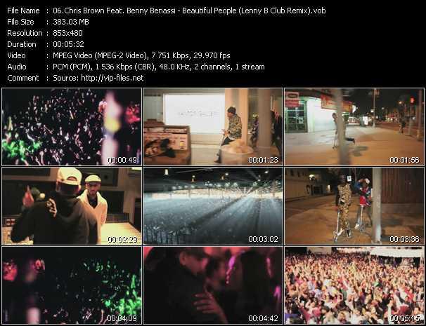 Chris Brown Feat. Benny Benassi - Beautiful People (Lenny B Club Remix)