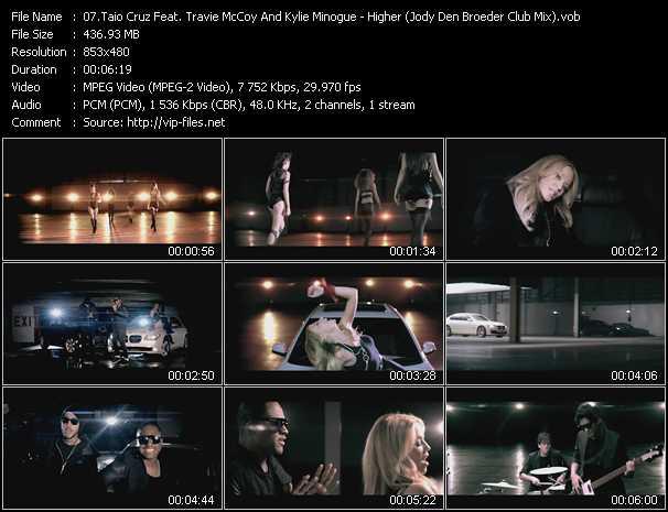 Taio Cruz Feat. Travis McCoy And Kylie Minogue - Higher (Jody Den Broeder Club Mix)