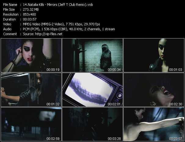 Natalia Kills - Mirrors (Jeff T Club Remix)