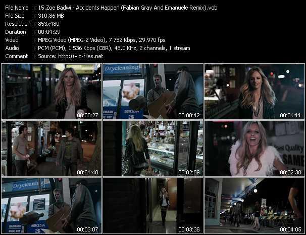 Zoe Badwi - Accidents Happen (Fabian Gray And Emanuele Remix)