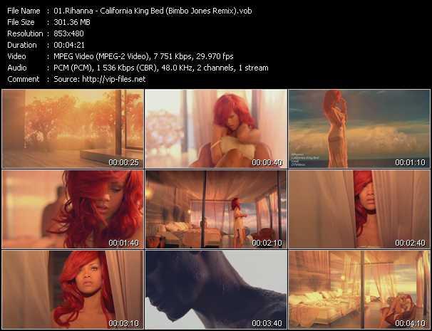 Rihanna - California King Bed (Bimbo Jones Remix)