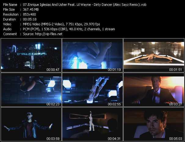 Enrique Iglesias And Usher Feat. Lil' Wayne - Dirty Dancer (Alex Sayz Remix)