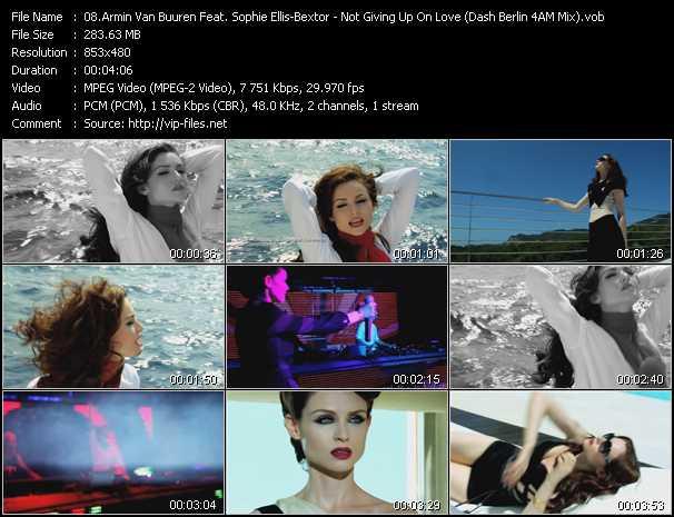 Armin Van Buuren Feat. Sophie Ellis-Bextor - Not Giving Up On Love (Dash Berlin 4AM Mix)