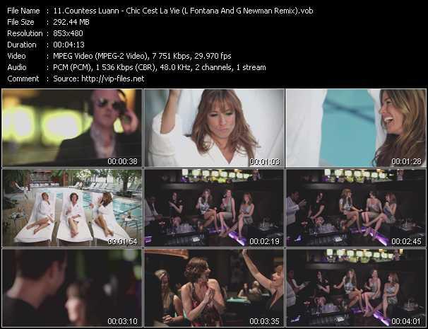 Countess Luann - Chic Cest La Vie (L Fontana And G Newman Remix)