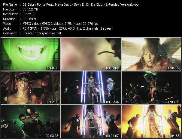 Gabry Ponte Feat. Maya Days - Sexy Dj (In Da Club) (Extended Version)