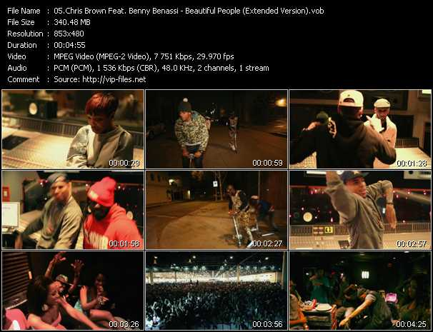 Chris Brown Feat. Benny Benassi - Beautiful People (Extended Version)