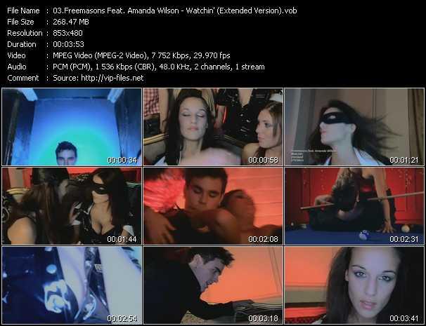 Freemasons Feat. Amanda Wilson - Watchin' (Extended Version)