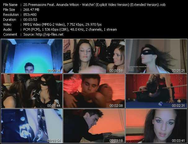 Freemasons Feat. Amanda Wilson - Watchin' (Explicit Video Version) (Extended Version)