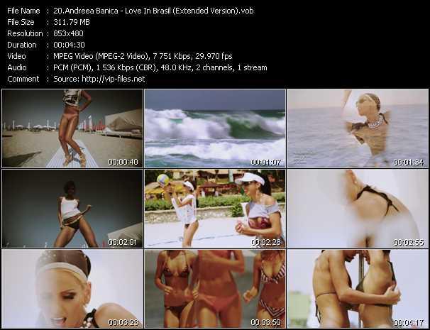 Andreea Banica - Love In Brasil (Extended Version)