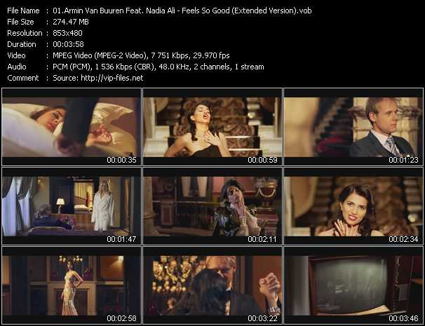Armin Van Buuren Feat. Nadia Ali - Feels So Good (Extended Version)