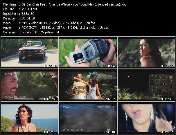 Dim Chris Feat. Amanda Wilson - You Found Me (Extended Version)