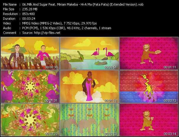 Milk And Sugar Feat. Miriam Makeba - Hi-A Ma (Pata Pata) (Extended Version)