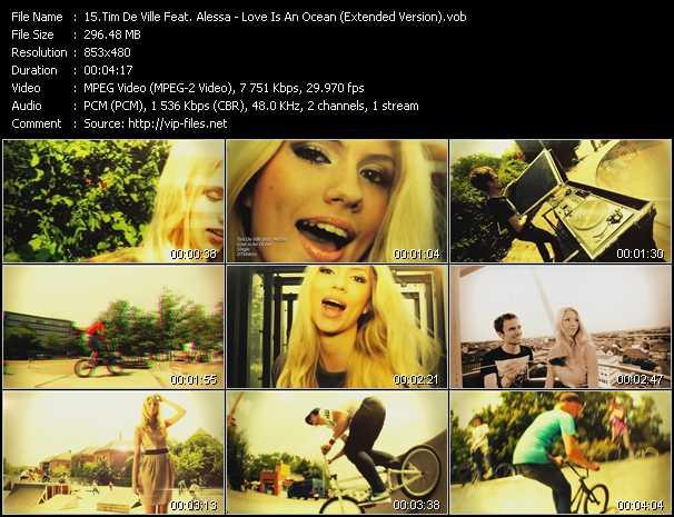 Tim De Ville Feat. Alessa - Love Is An Ocean (Extended Version)