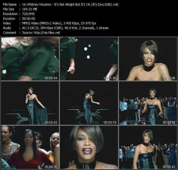 Whitney Houston - It's Not Alright But It's Ok (Jk's Djvu Edit)