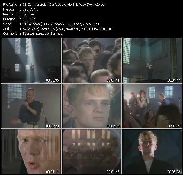 Communards - Don't Leave Me This Way (Remix)