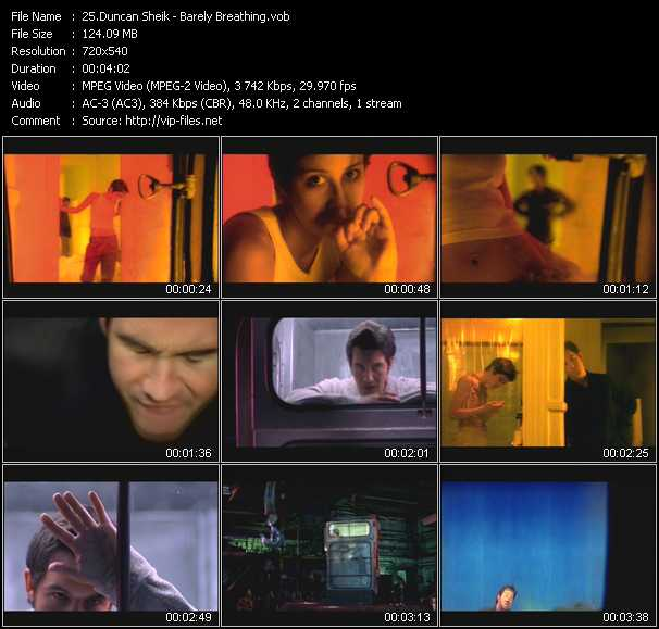 Duncan Sheik - Barely Breathing