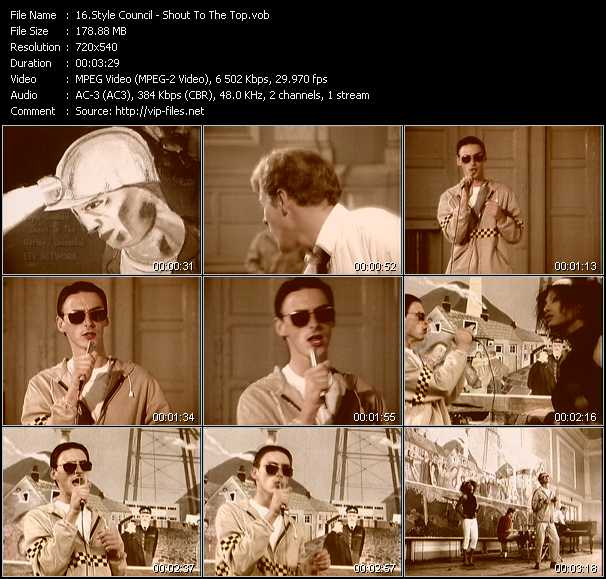 Style Council - Shout To The Top
