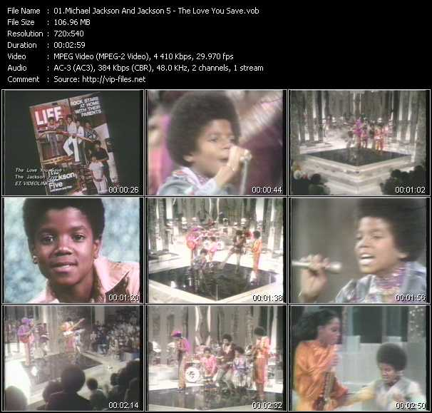 Michael Jackson And The Jacksons (Jackson 5) - The Love You Save