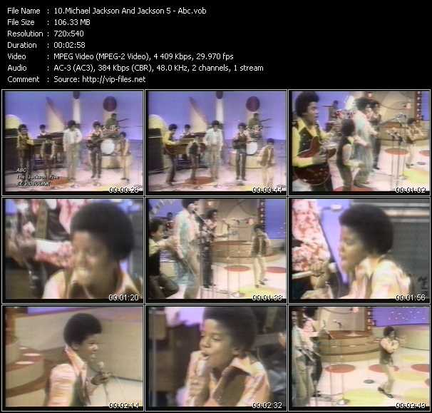 Michael Jackson And The Jacksons (Jackson 5) - Abc