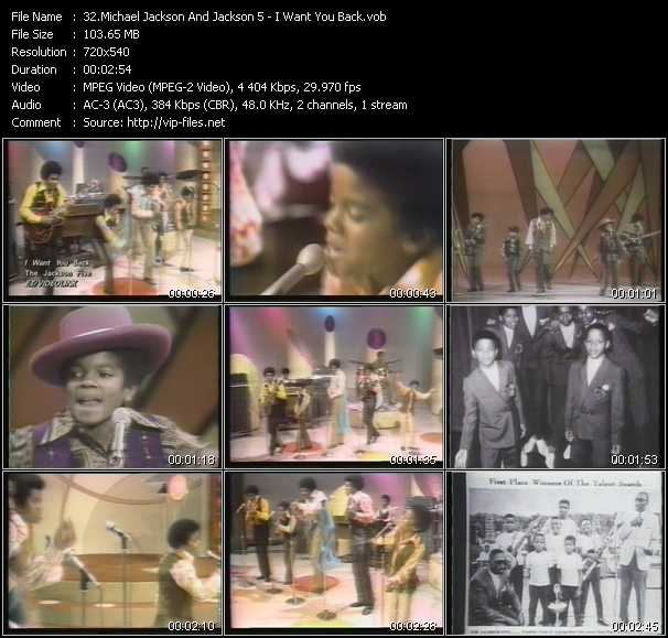 Michael Jackson And The Jacksons (Jackson 5) - I Want You Back