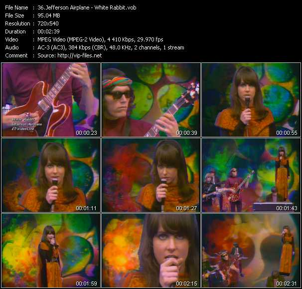 Jefferson Airplane (Jefferson Starship) - White Rabbit
