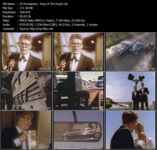 Proclaimers - King Of The Road