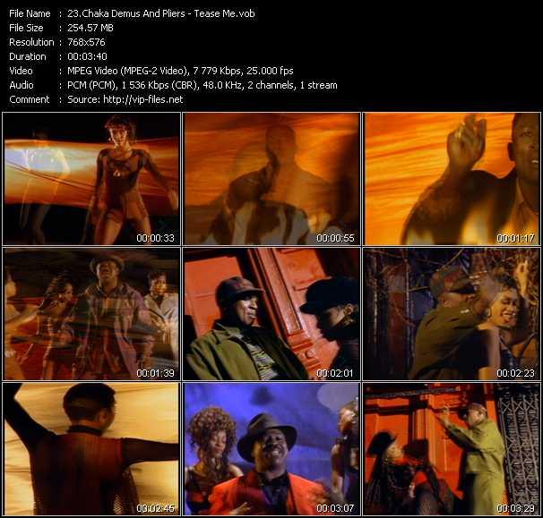 Chaka Demus And Pliers - Tease Me