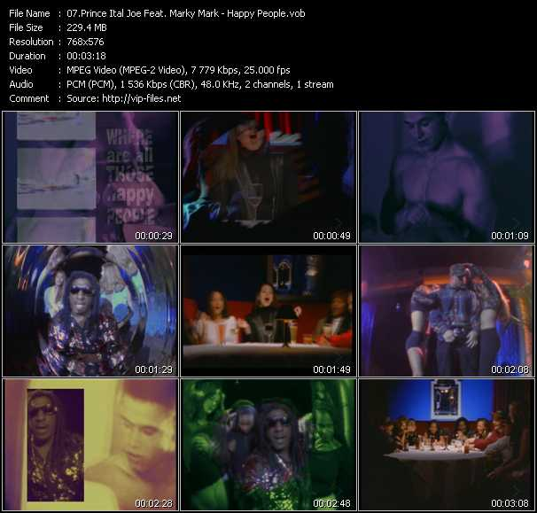Prince Ital Joe Feat. Marky Mark - Happy People