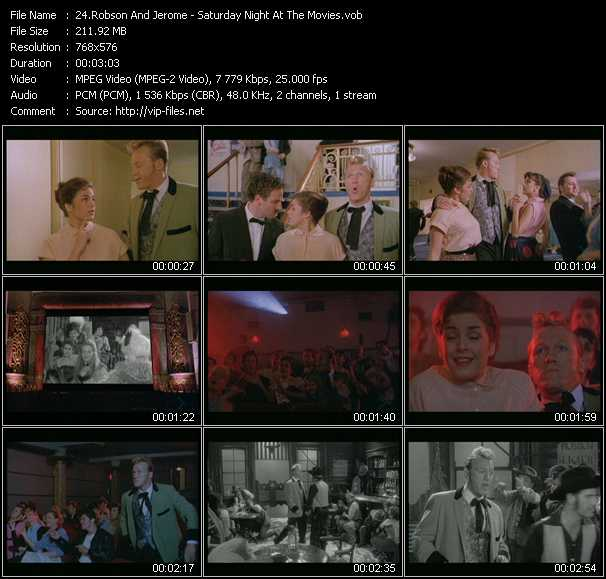 Robson And Jerome - Saturday Night At The Movies
