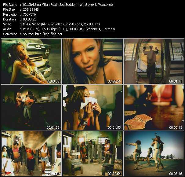 Christina Milian Feat. Joe Budden - Whatever U Want