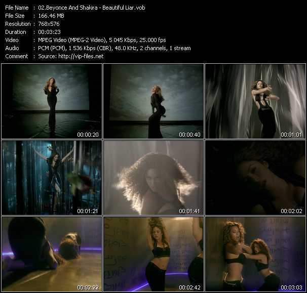 Beyonce And Shakira - Beautiful Liar