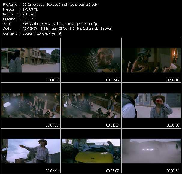 Junior Jack - See You Dancin (Long Version)