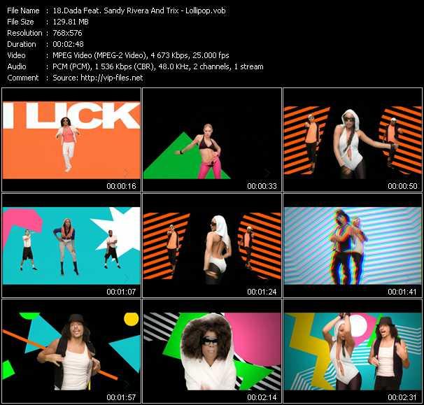 Dada Feat. Sandy Rivera And Trix - Lollipop