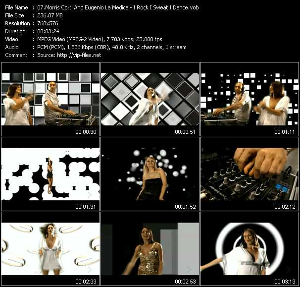 Morris Corti And Eugenio Lamedica - I Rock I Sweat I Dance