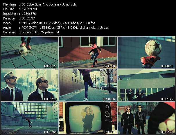 Cube Guys Feat. Luciana - Jump