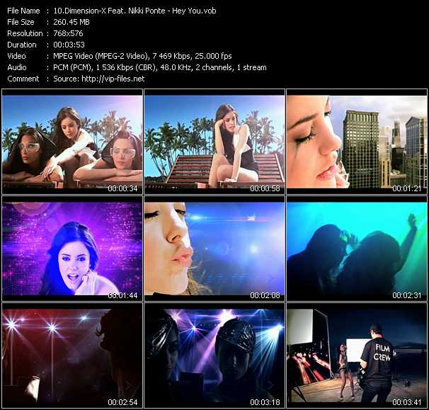 Dimension-X Feat. Nikki Ponte - Hey You
