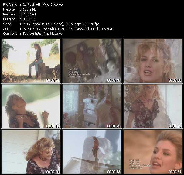 Faith Hill - Wild One