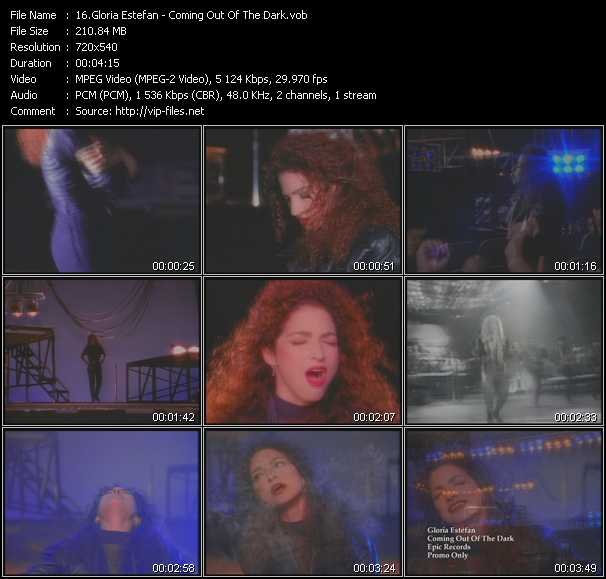 Gloria Estefan - Coming Out Of The Dark