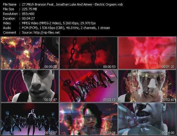 Mitch Branson Feat. Jonathan Luke And Aimee - Electric Orgasm