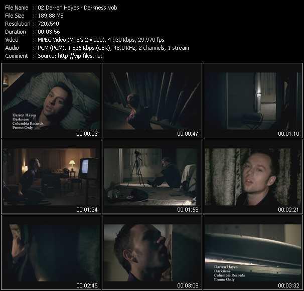 Darren Hayes - Darkness